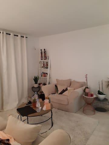 Bel appartement cosy à 15 minutes de Paris
