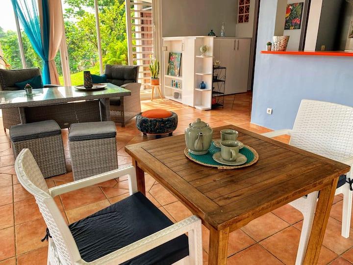 L'Angeline, notre villa sous les tropiques