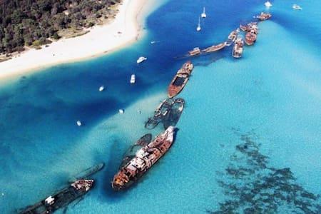 Absolute Beach Front Villa Moreton Island - Moreton Island - Villa