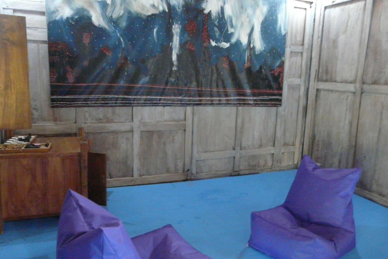 joglo (wooden house)