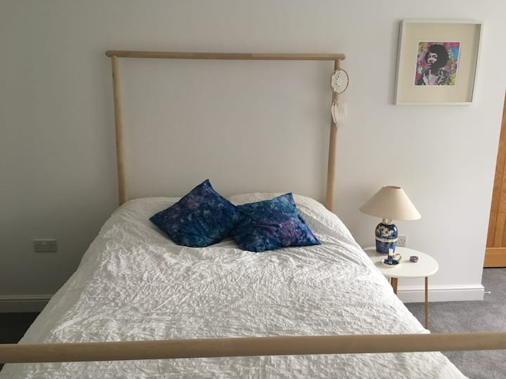 Southampton double room with a park view.