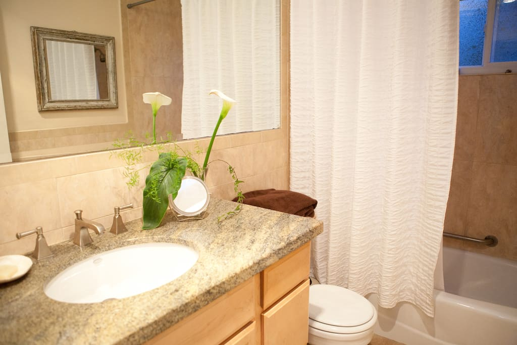 Next time you stay you may want the master suite with private bath :)