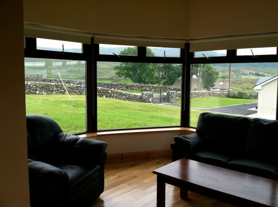 Breathtaking views from the sunroom