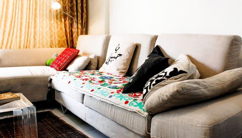 BEIT EL REEM - Hamra 2BR Apartment