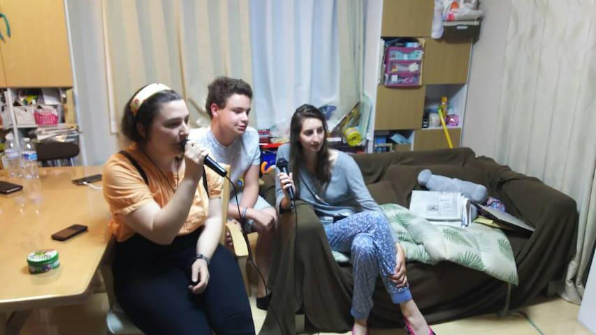 Karaoke at home