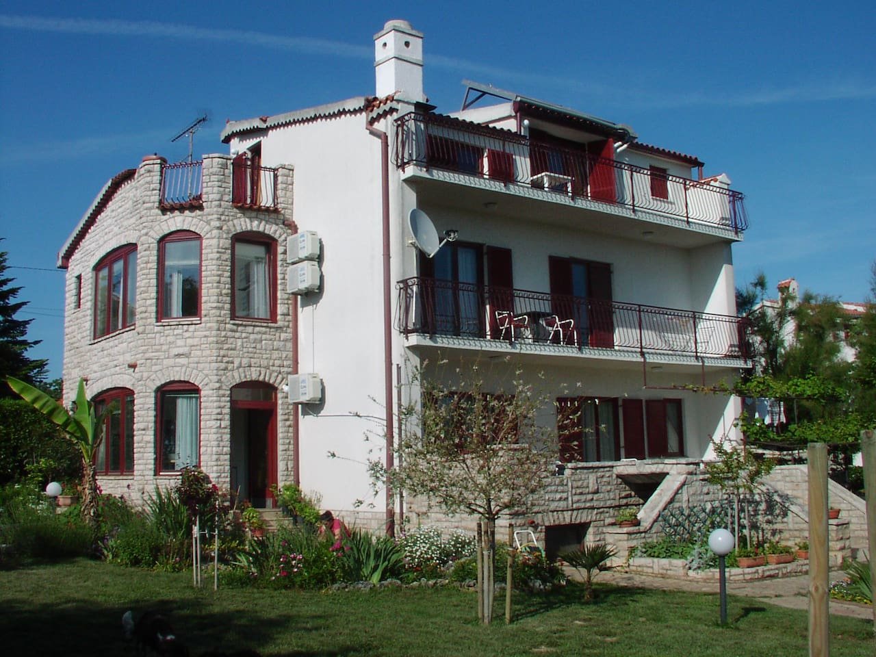 Our family house, apartmant is located on the ground floor