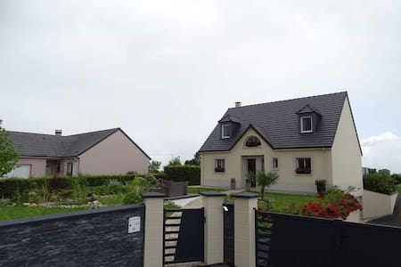 Contempory detached house with garden - Smermesnil