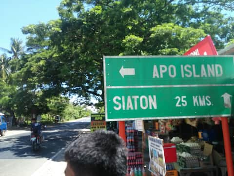 Mi Casa fan Malatapay/near beach, hi-way