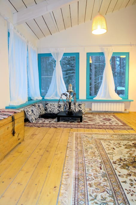 Rent a home 90 kms from Moscow
