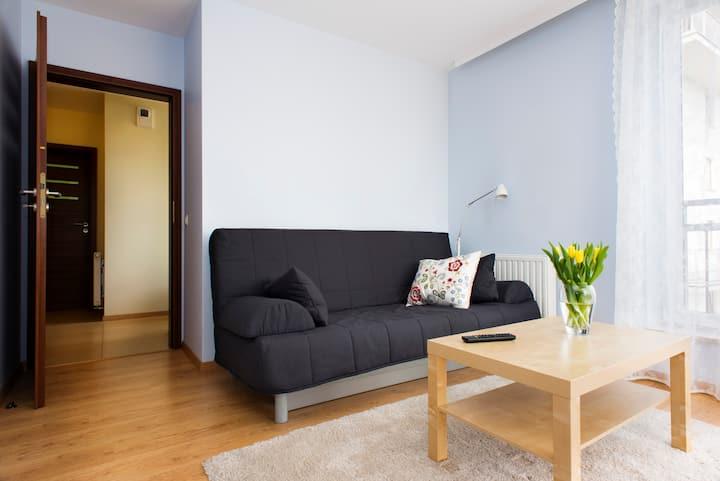 Comfortable + new 2 bedroom apart