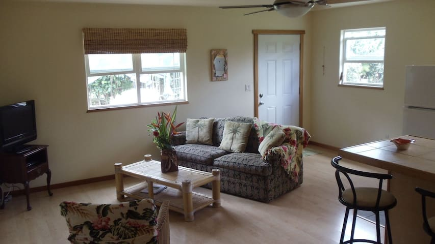 Kauai Large,Cute& Private 1 BR Apt - Kapaa - Apartment