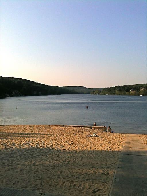 Staffordville Lake (5 minute drive)