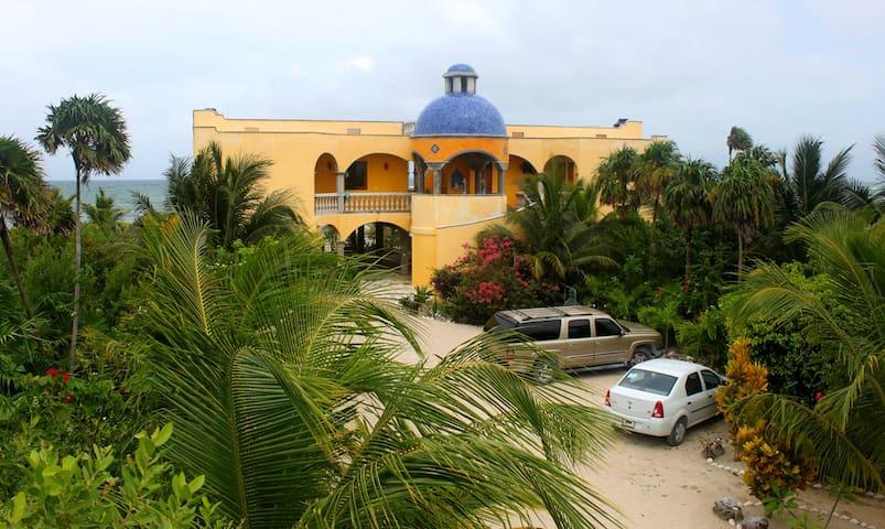 Taj Majahual, Lux Ocean villa Whole Enchilada