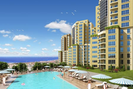 Fully Furnished with Swimming Pool - Istanbul - Apartemen