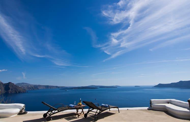 Villa with Pool in Oia, Santorini!! - Oia - Villa