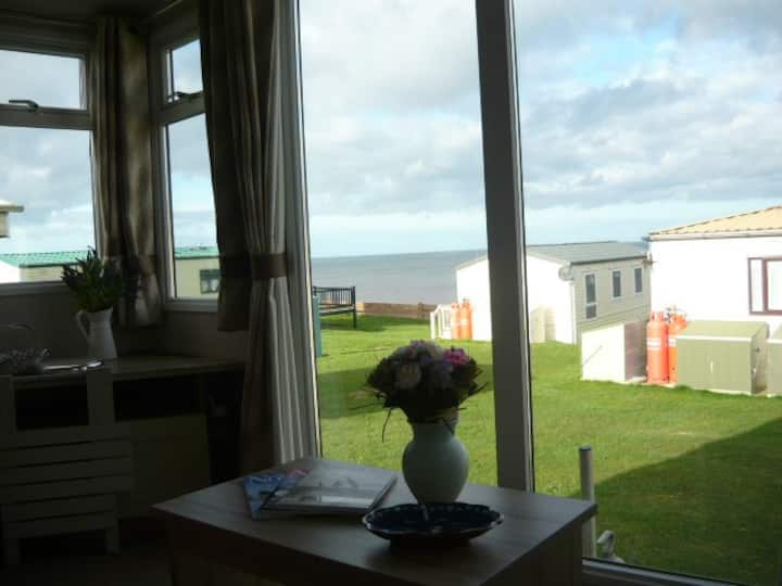 North Norfolk Coastal caravan sea views