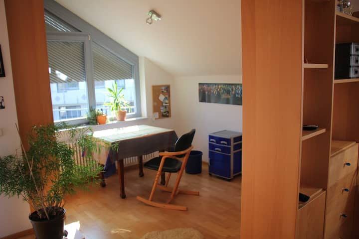 Quiet Island - bright room with balcony