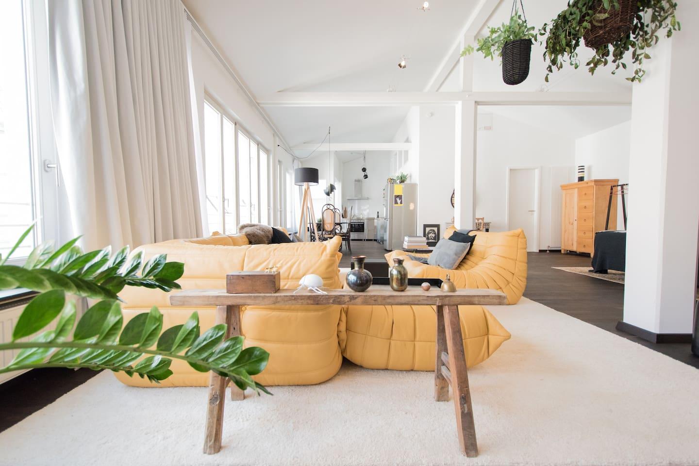 Weimar Central Artist Loft – 120 m² - Lofts zur Miete in Weimar ...