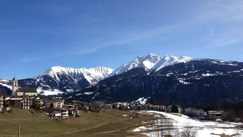 cosy Chalet apartment type - Laax - Appartement