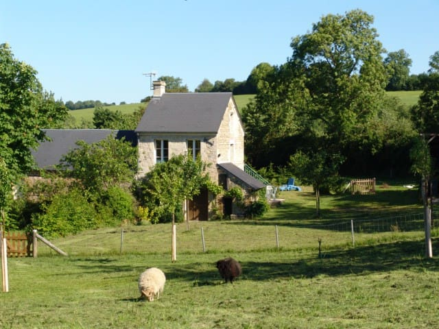 By the countryside, close to Caen
