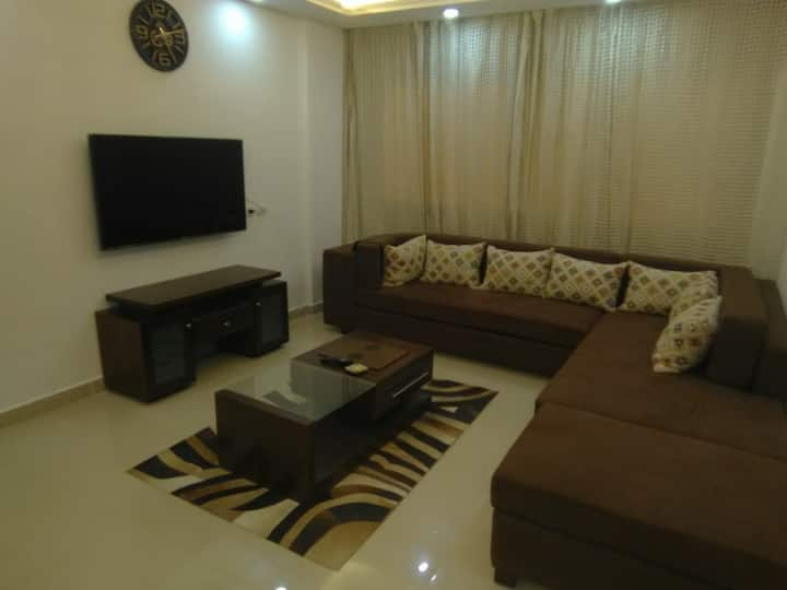 One furnished bedroom in Ocean blue opp airport