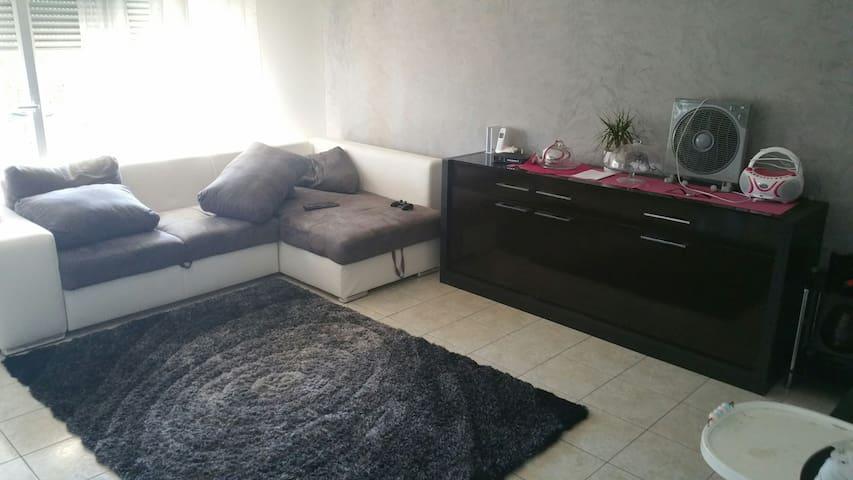 Bel appartement t3 rdc avec 150 m2 - Grézieu-la-Varenne - Apartament