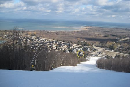 Blue Mtn Pet Friendly, Ski to Door! - 藍山