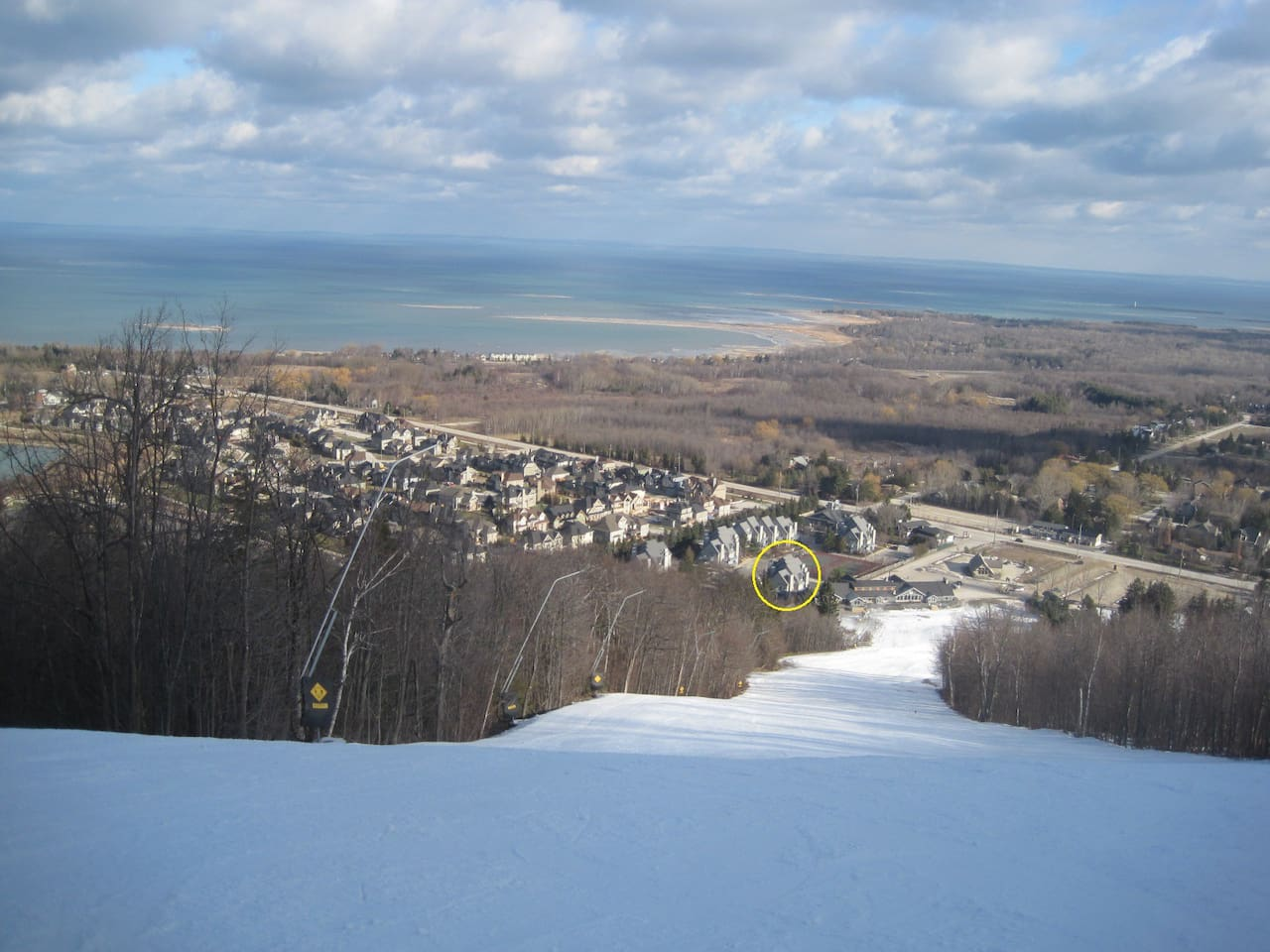 Ski in, ski out at Blue Mountain