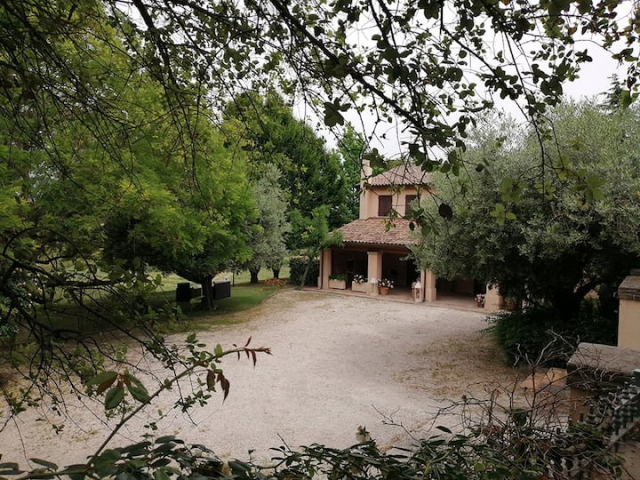 "casa ""BELLA CASA""    villas for rent in Longiano"