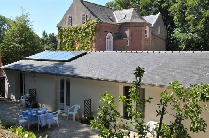 Gite 4 -2p manoir écossais - Saint-Jouan-des-Guérets - Appartement