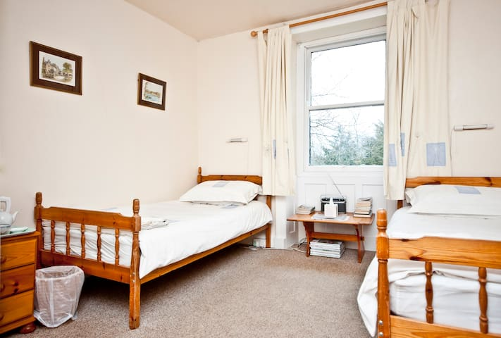 Twin ensuite- Wharfe View  Burnsall - Burnsall - Bed & Breakfast