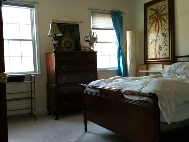 Old Town Alexandria private bedroom