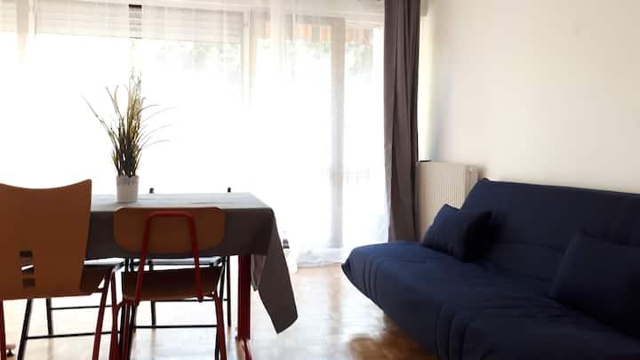Chambre dans résidence de standing à 20' de Paris