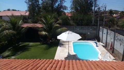 Confortável e linda casa na Praia do Presídio! :)