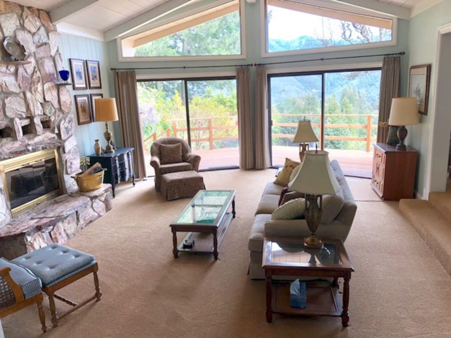 Living Room - Look at all those windows!