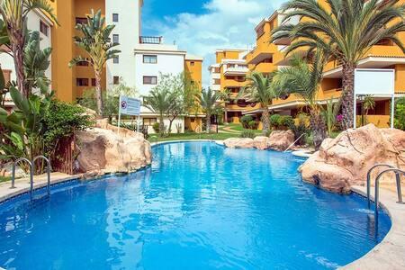 Precioso apartamento con vistas al mar - Torrevieja