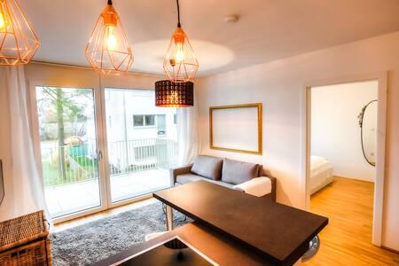 Stylish apartment with balcony