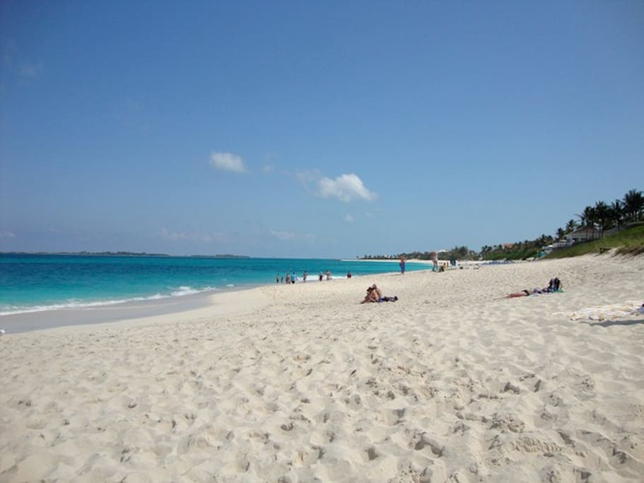 Across from Cabbage Beach, the best beach!
