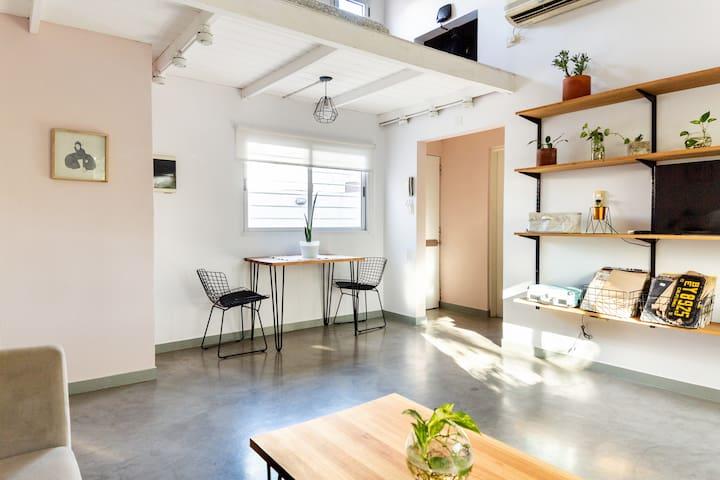 Luminoso y amplio apartamento en Colegiales