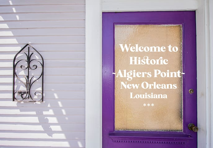 * Cozy Getaway in Old Algiers - Short Trip to FQ *