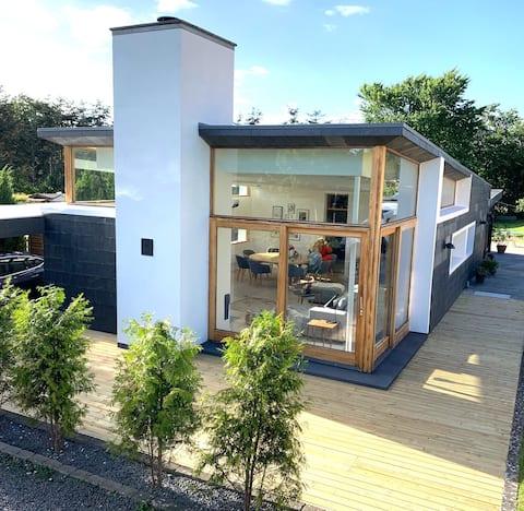 Moderne hus i Tisvilde