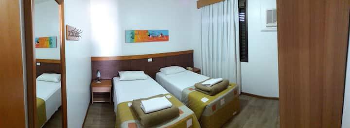 Flat confortável e prático - Union Residence ap147