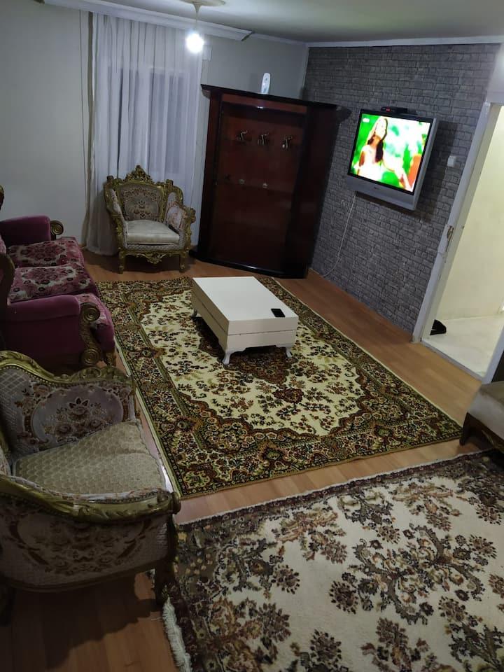 house with garden. 2 rooms 1 saloon. BAHÇELİ EV