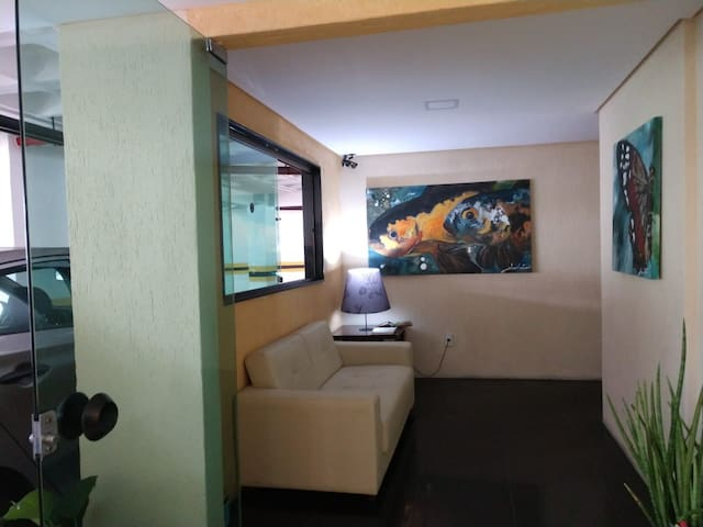 Flat em Boa Viagem, Golden Style Apto 803