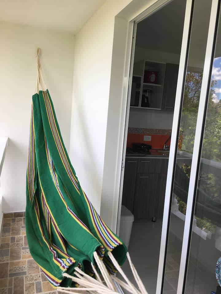 RIONEGRO NEAR INTL AIRPORT STUDIO, 1 BED, 2 PEOPLE
