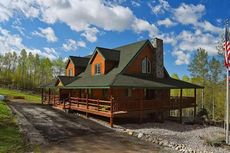 Deer Park Ranch - Forest Access and Amazing Views! - Star Valley Ranch - 独立屋