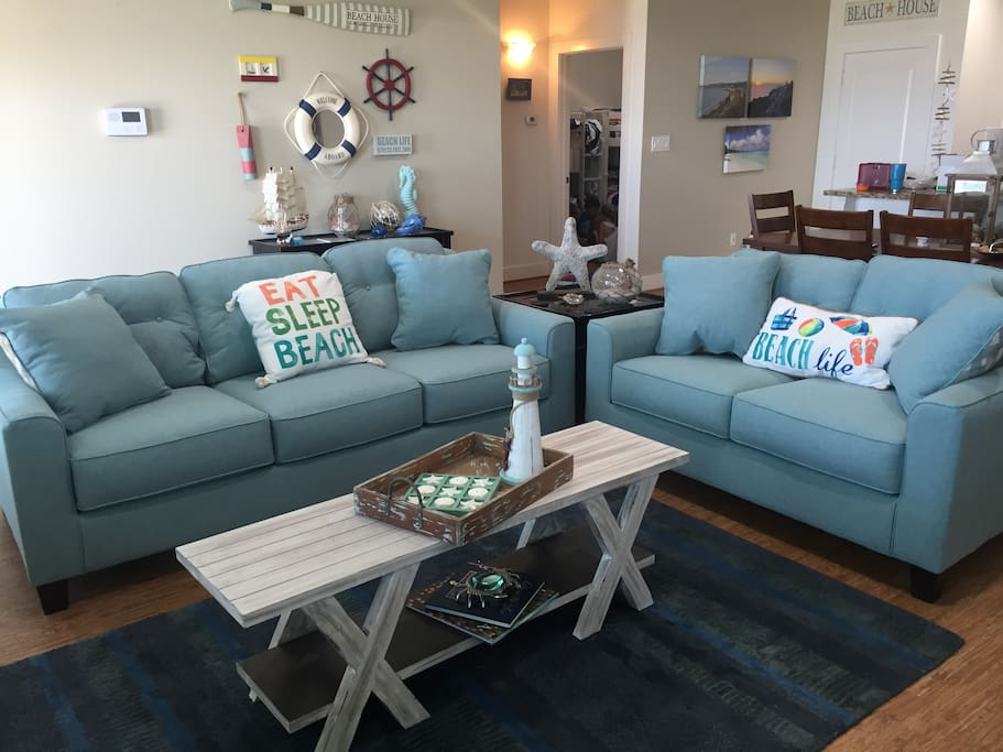 Just added new couch and love seat