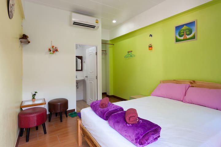 3Pax.Private room in HomeStay5min toNimman,Ac+Bath - Chiang Mai - Haus