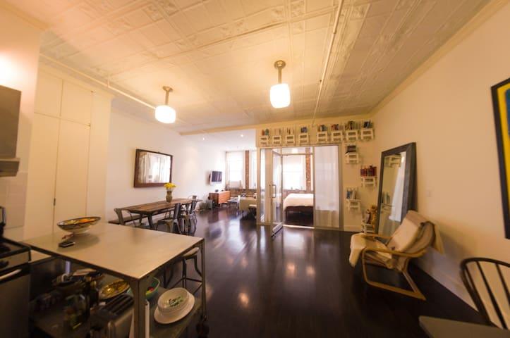 Large luxury 1 bedroom loft in Gramercy