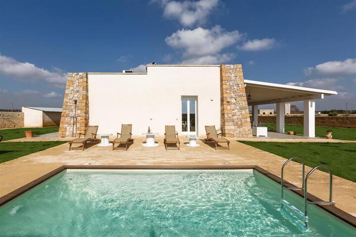 777 Finished Villa with Pool in Presicce - Acquarica del capo - Villa